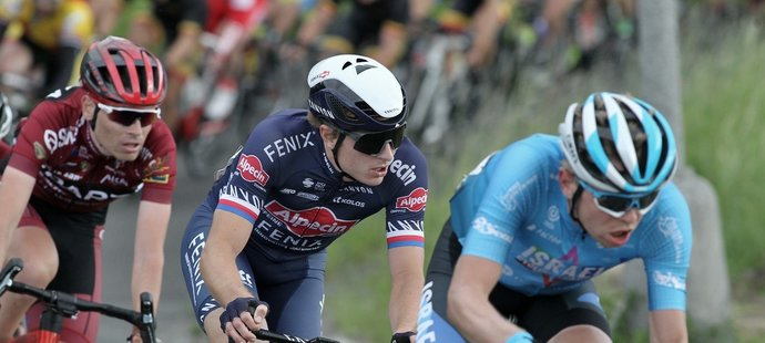 Závodník týmu Alpecin-Fenix Petr Vakoč
