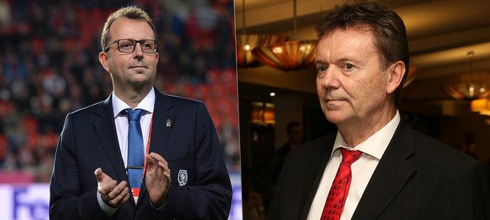 Předseda FAČR Malík o kauze Berbr: Teď neodstoupím. Je to útok na podstatu fotbalu!