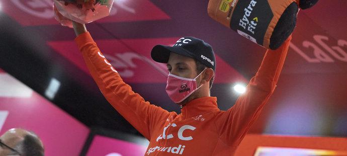 Josef Černý vyhrál zkrácenou 19. etapu Gira