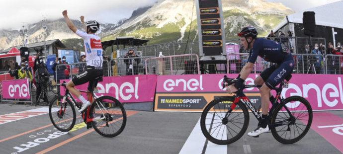 Giro rozhodne až poslední etapa! Hindley a Hart mají na vteřinu stejný čas