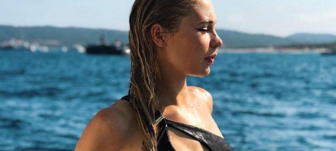 Rychlobruslařka Jutta Leerdamová - jedna z nejkrásnějších sportovkyň světa