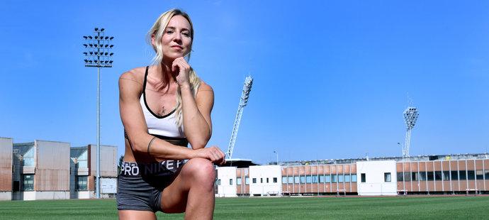 Sprinterka Klára Seidlová pózovala pro iSport LIFE magazín