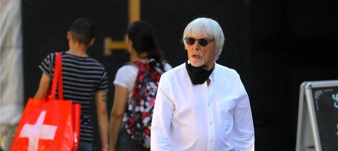 Bernie Ecclestone oslavil devadesáté narozeniny