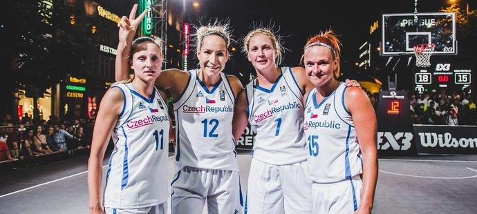 Monika Satoranská je aktuálně nejlepší českou hráčkou basketbalu 3x3