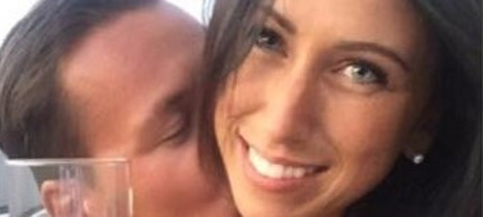 Golfista Ondřej Lieser má krásnou manželku Michaelu.