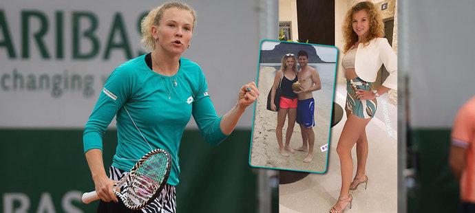 Sexy rande! Tenistka Siniaková se vyfikla na exotické dovolené!