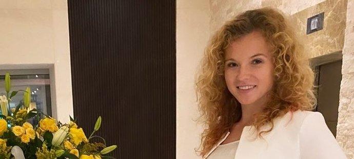 Tenistka Kateřina Siniaková vyrazila na rande pořádně sexy.