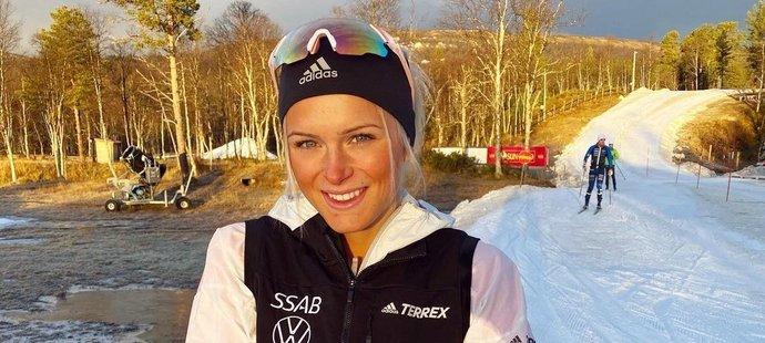 Švédská běžkyně na lyžích Frida Karlssonová