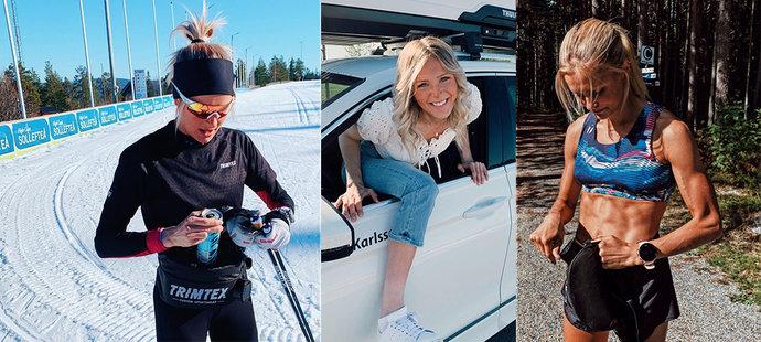 Krásná běžkyně na lyžích otevřeně o svém boji: Porazila démony!