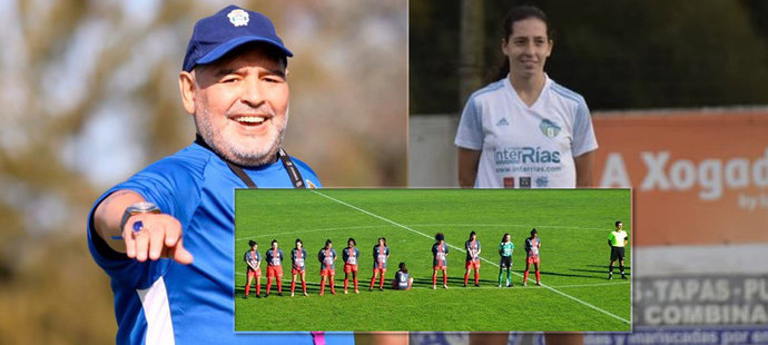 Fotbalistka odmítla držet minutu ticha pro Maradonu (†60): Proč ho nemá v úctě?