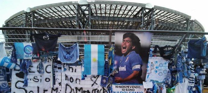 Stadio Sao Paolo má brzo nést Maradonovo jméno