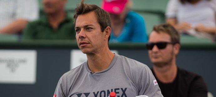Respektovaný tenisový kouč Sascha Bajin