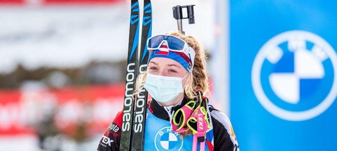 Markéta Davidová vybojovala nejlepší český výsledek sezony