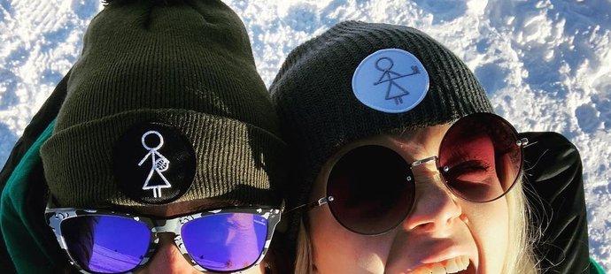Rychlobruslařská legenda Martina Sáblíková vítala nový rok s kamarádkou a kolegyní z týmu Nikolou Zdráhalovou