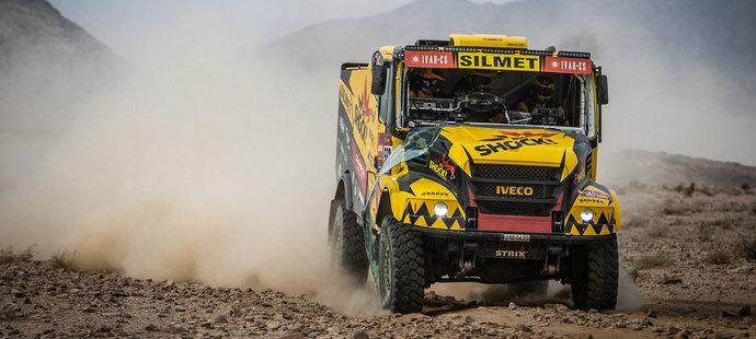Martin Macík zakončil Dakar třetí vítěznou etapou