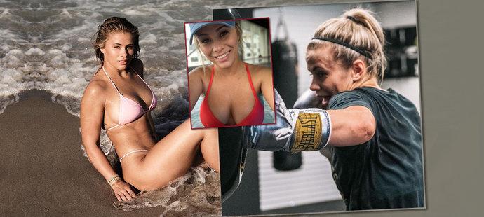 Anděl zkázy: Sexy hvězda MMA Paige VanZantová jde boxovat bez rukavic!