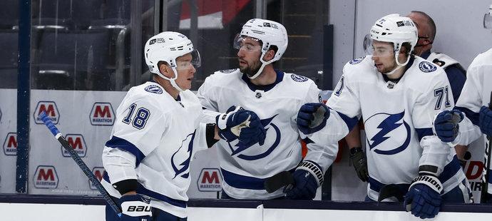 ONLINE NHL: Palát dal v 500. utkání gól, Tampa ale podlehla Columbusu