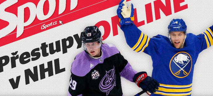 Přestupy v NHL sledujeme ONLINE na iSport.cz