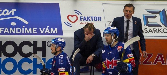 Zklamaný trenér Českých Budějovic Václav Prospal