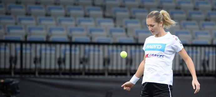 Česká tenistka Denisa Allertová