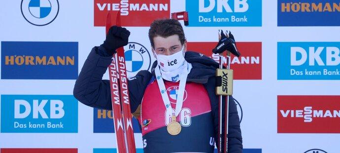 Sturla Holm Lägreid ovládl vytrvalostní závod s čistou střelbou