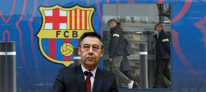 Josep Maria Bartomeu je mezi zatčenými kvůli kauze Barcagate