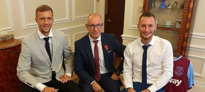 Libor Sečka se setkává s Tomášem Součkem a Vladimírem Coufalem pravidelně.