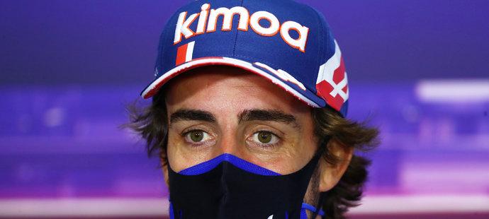 Fernando Alonso dojel v úvodní kvalifikaci na devátém místě