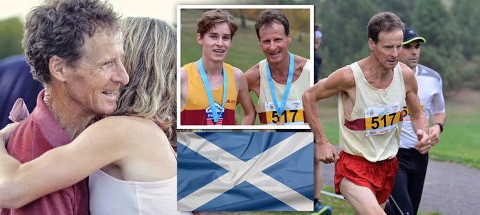 Skotský běžec Eddie Stewart žije v Česku zhruba třicet let