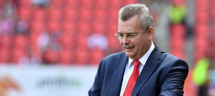 Slávistický boss Jaroslav Tvrdík