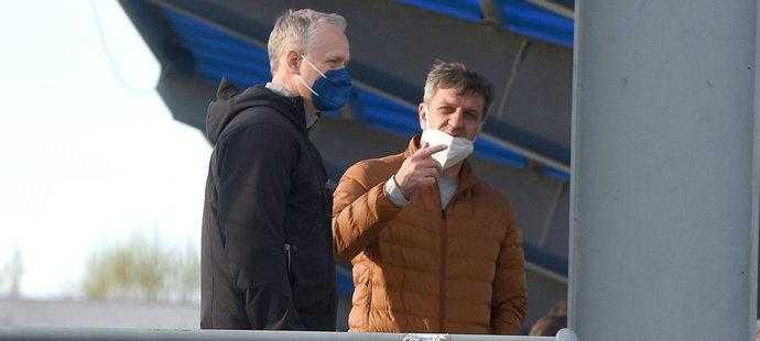 Václav Jílek by se mohl vrátit na lavičku Sigmy. Sledoval v Prostějově olomoucké naděje?