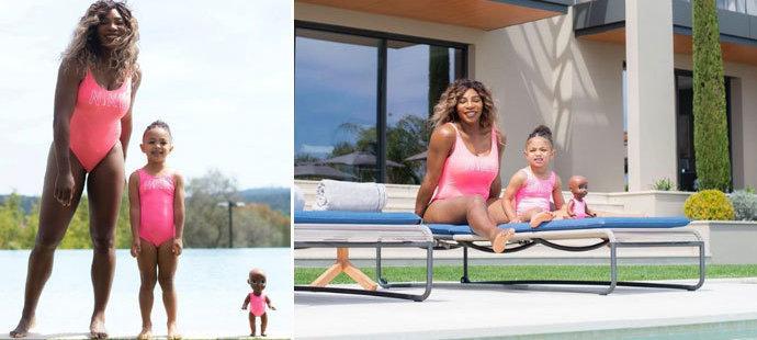Serena Williamsová se velmi často ukazuje v plavkách. Má k tomu důvod.