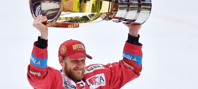Ralfs Freibergs napomohl Třinci k zisku extraligového titulu