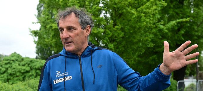 Trenér Vasja Bajc se vrací k českým skokanům