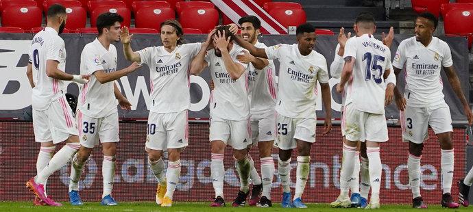 Real zvládl důležitý zápas v Bilbau