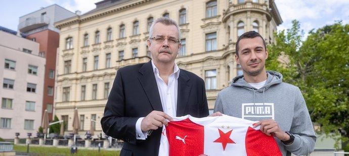 Jaroslav Tvrdík podepsal Slavii první posilu léta 2021