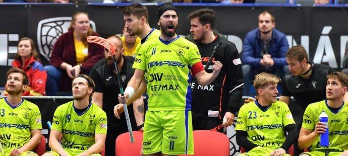 Tomáš Sladký během finále extraliga v roce 2019