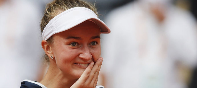 Vítězka French Open Barbora Krejčíková