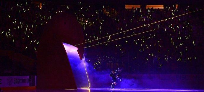 Vegas Golden Knights  hnala během úvodního semifinále proti Montrealu parádní divácká kulisa