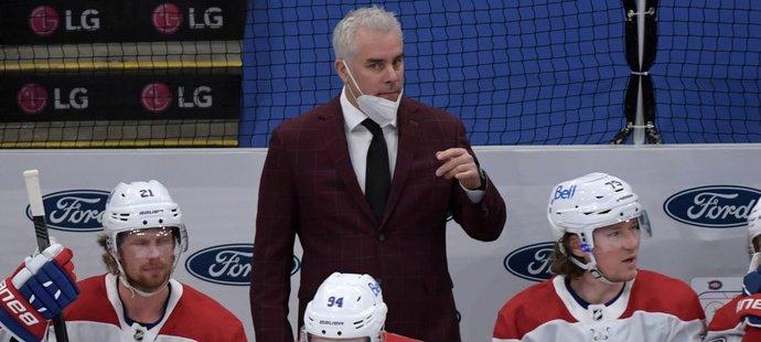 Montrealu v třetím zápase série s Vegas chyběl kvůli koronaviru trenér Dominique Ducharme