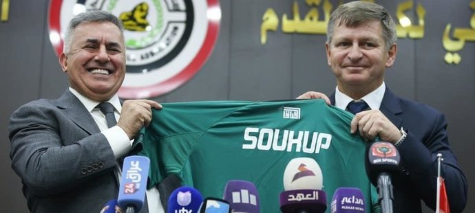 Miroslav Soukup je novým trenérem reprezentace Iráku do 23 let