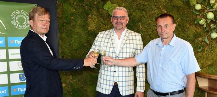 Jockey Club České republiky navázal spolupráci se sázkovou kanceláři Tipsport