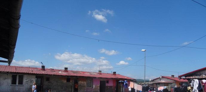 Osada, ve které Annamária bydlí