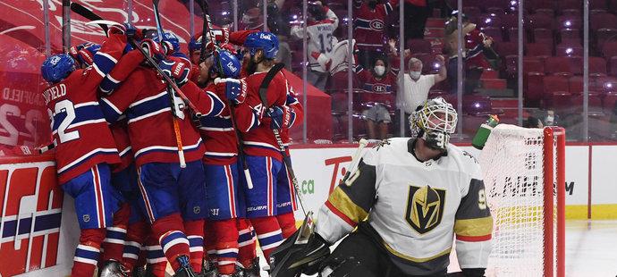 Montreal je ve finále Stanley Cupu, Vegas udolal v prodloužení 6. zápasu