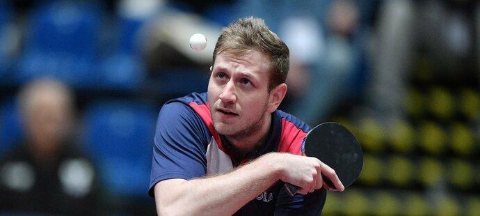 Stolní tenista Pavel Širuček