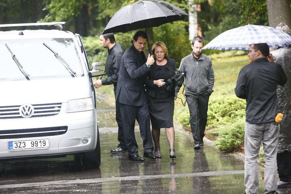Pohřeb Karla Rachůnka