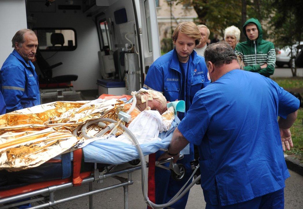 Alexandr Galimov nezemřel jako jeho spoluhráči hned na místě nehody, měl však jen velmi malou naději na přežití