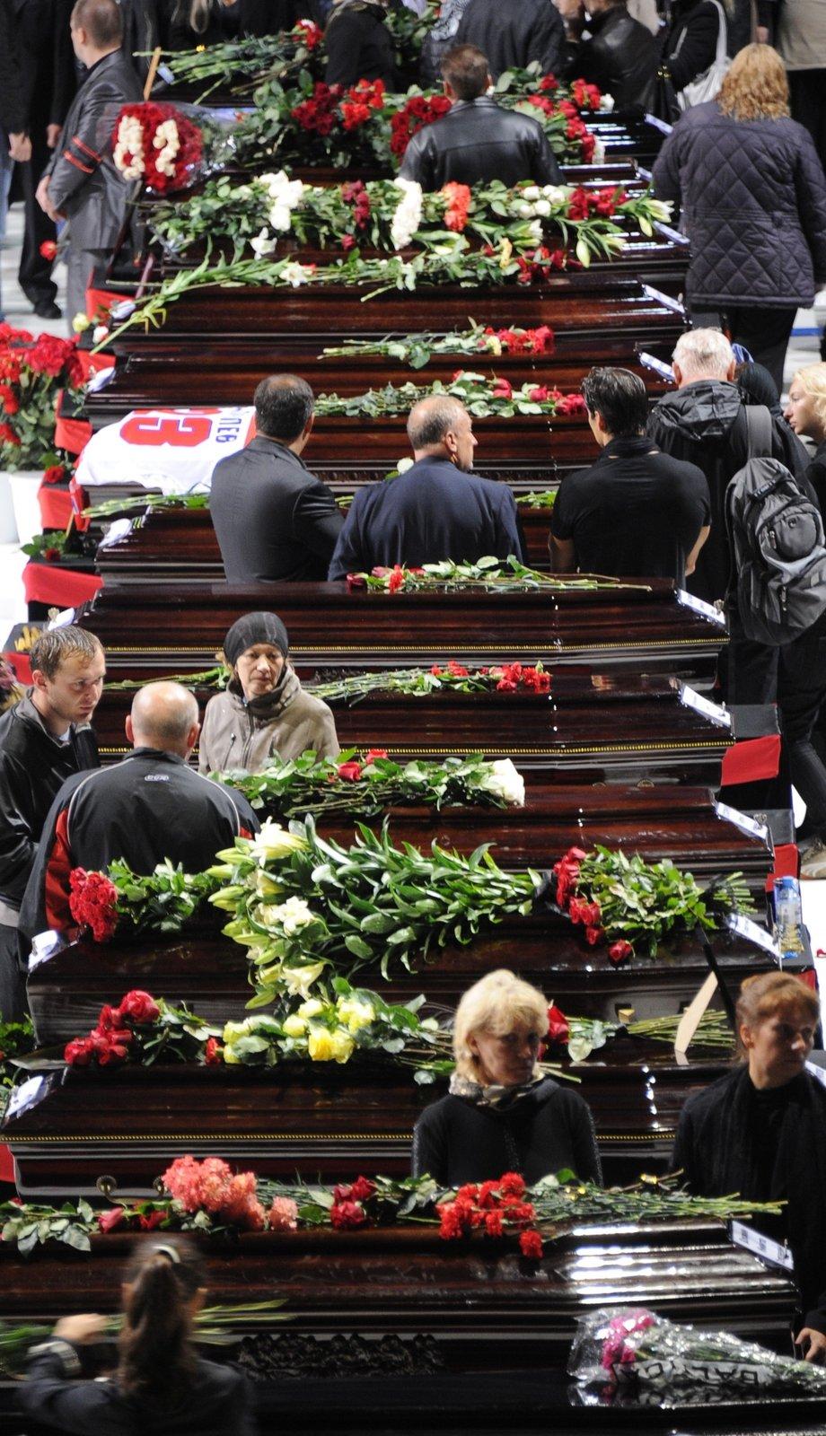 Pohřební tryzna v aréně Lokomotivu byla hrozně smutná