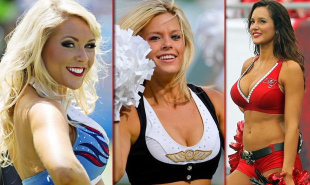 Půvabné roztleskávačky mohou NFL všechny sporty závidět