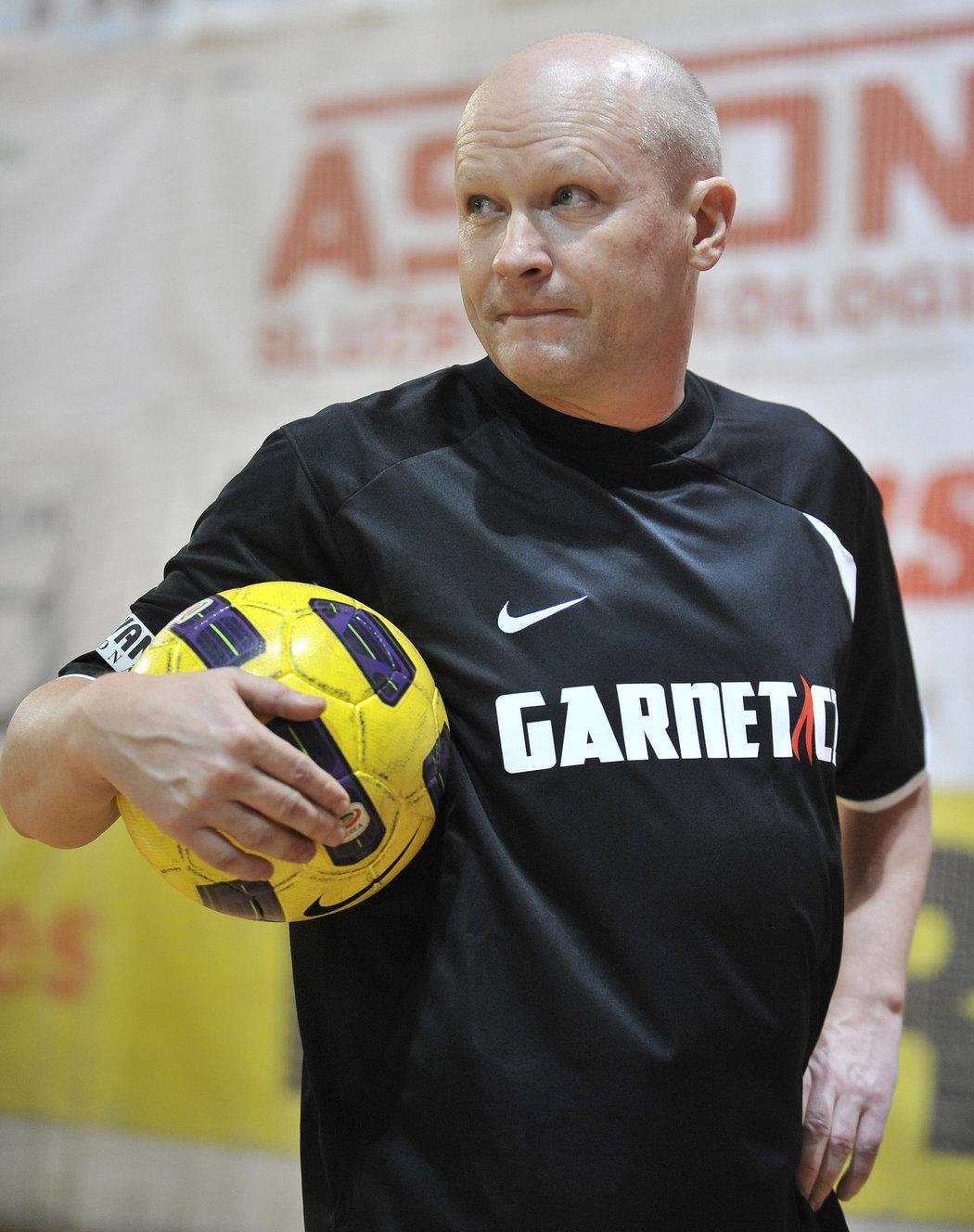 Ivan Hašek na snímku z turnaje internacionálu z roku 2010